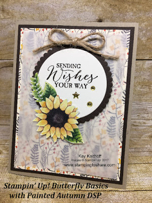Use the Painted Autumn DSP for Gorgeous Fall Cards! How To Video Included!