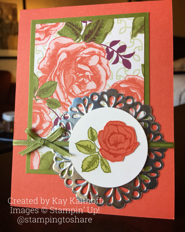 Easy Elegance with Stampin' Up! Graceful Garden – Includes How To Video