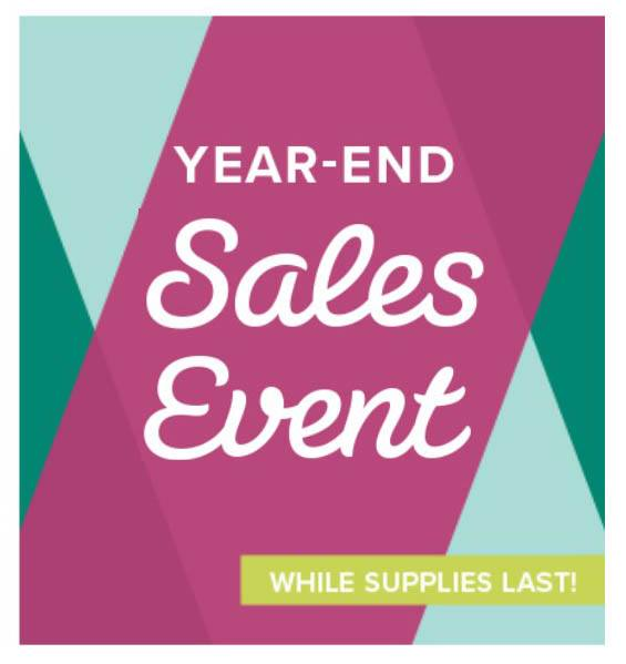 Stampin' Up! Year End Sales Event Start TODAY! Get all the details here!!