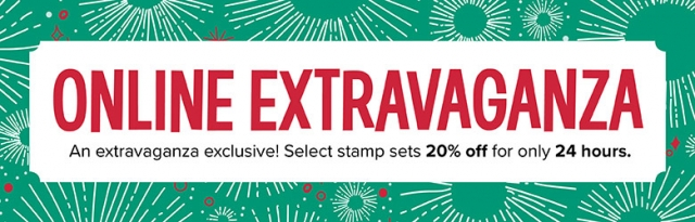 Stampin' Up! Online EXTRAVAGANZA!! Select Stamp Sets on Sale TODAY ONLY!