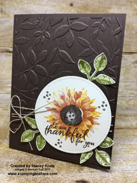 Stampin' Up! Painted Harvest created by Stacey Krats for Stamping to Share Demo Swap #stampingtoshare
