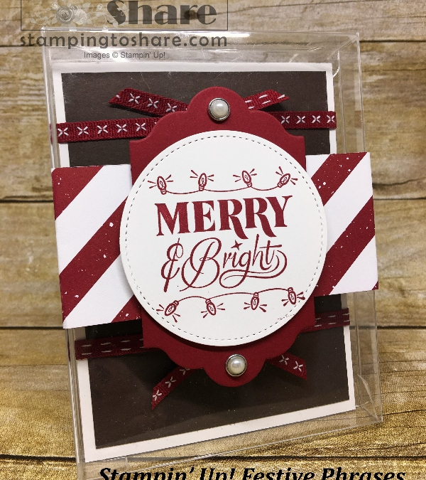 Fab Friday #14! Christmas Thank You's and an Acetate Gift Card Holder!!