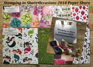 2018 Occasions Catalog Shares by Kay Kalthoff for #stampingtoshare