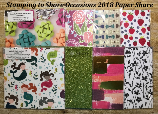 Stamping to Share Occasions 2018 Paper Share by Kay Kalthoff