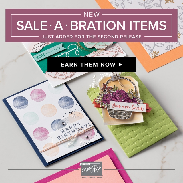 New Sale-a-bration Options!