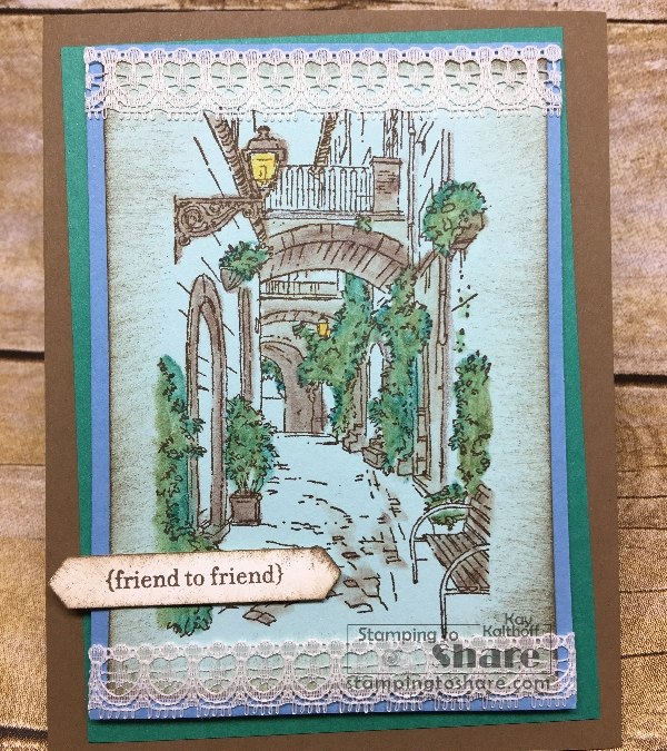 How to Use Watercolor Pencils with Blender Pens with Mediterranean Moments – Includes How To Video