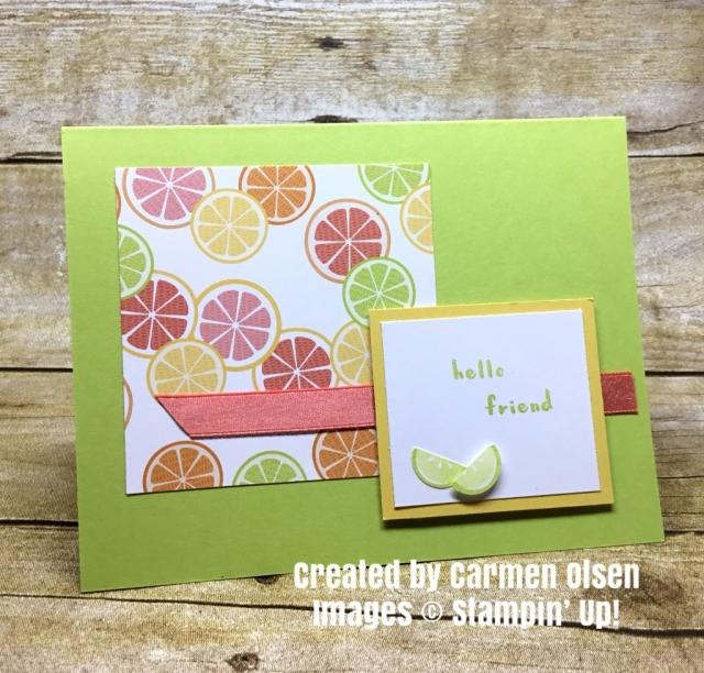 Stampin' Up! Fruit Basket Bundle