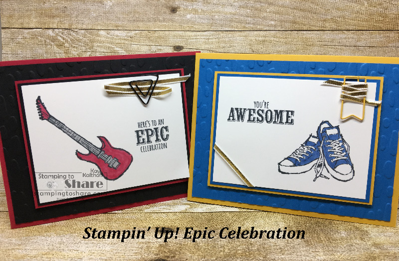 Epic Celebrations for an Epic Sale-a-bration! Includes How To Video