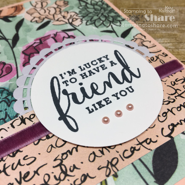 Stampin' Up! Share What You Love Early Release with Facebook Live Video by Kay Kalthoff for #stampingtoshare