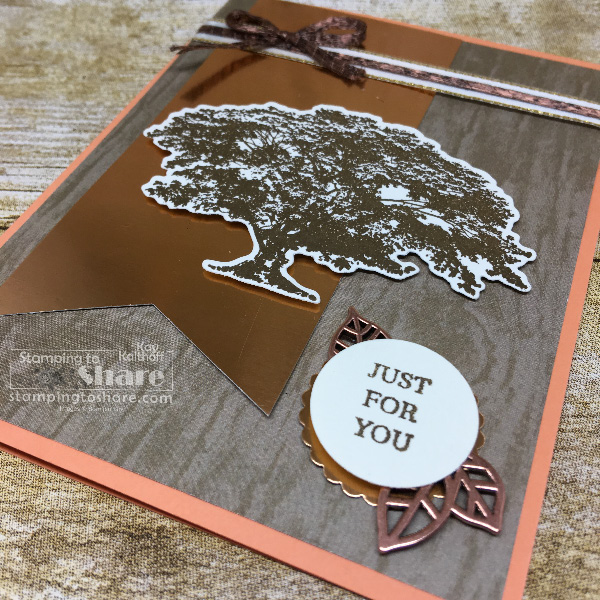 How to Use Stampin' Up! Rooted in Nature with Copper Accents