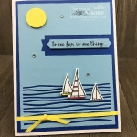 Lilypad Lake Bundle featuring the sailboats created by Kay Kalthoff with #stampingtoshare