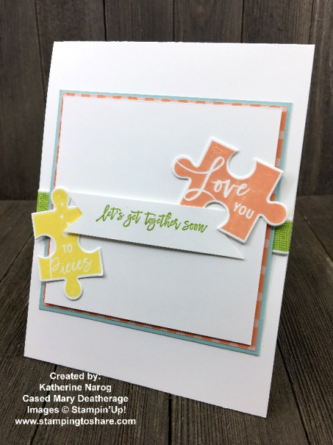 Created by Katherine Narog with Love You To Pieces Bundle for swap with #stampingtoshare