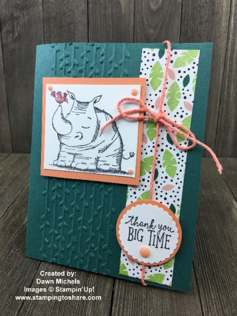 Created by Dawn Michels with Animal Outing Bundle for swap with #stampingtoshare