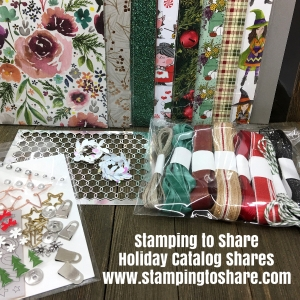 Stampin' Up! 2018 Holiday Catalog Shares with #stampingtoshare