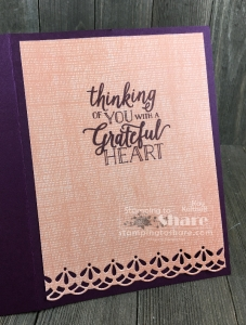 Inside Panel with Stampin' Up! Falling for Leaves Bundle in a Make It Monday FB Live Stamp and Chat with Kay Kalthoff at #stampingtoshare