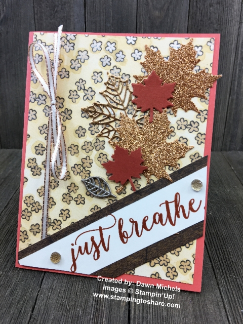 Colorful Seasons by Dawn Michels created for a Demo Meeting Swap at #stampingtoshare