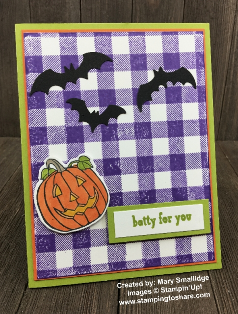 Trick or Tweet by Mary Smallidge created for a Demo Meeting Swap with #stampingtoshare