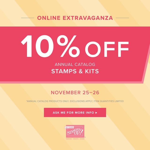 Stampin' Up! Stamps & Kits on Sale for 48 Hours!
