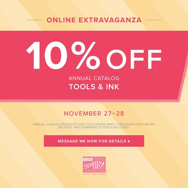 Stampin' Up! Tools & Ink on Sale for 48 Hours!