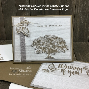 Simple and Stepped Up with Stampin' Up! Rooted in Nature