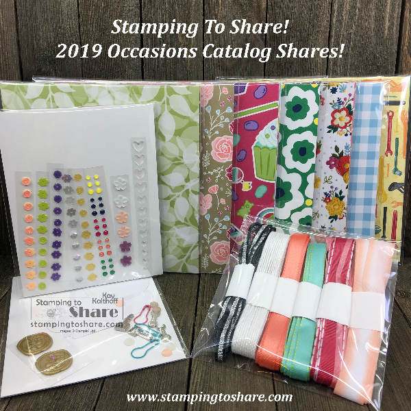 Occasions Catalog Product Shares Announced with TWO Paper Options!