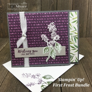 Stampin' Up! First Frost Bundle – Simple Stamping to Stepped Up!