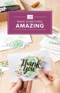 Beginner Brochure from Stampin' Up! for new stampers.