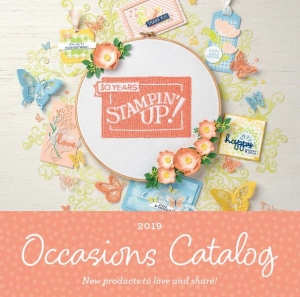 2019 Occasions Catalog PDF from Stampin' Up!