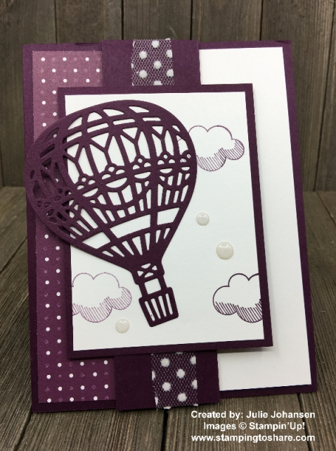 Stampin' Up! Lift Me Up created by Julie Johansen for Demo Meeting Swap #stampingtoshare