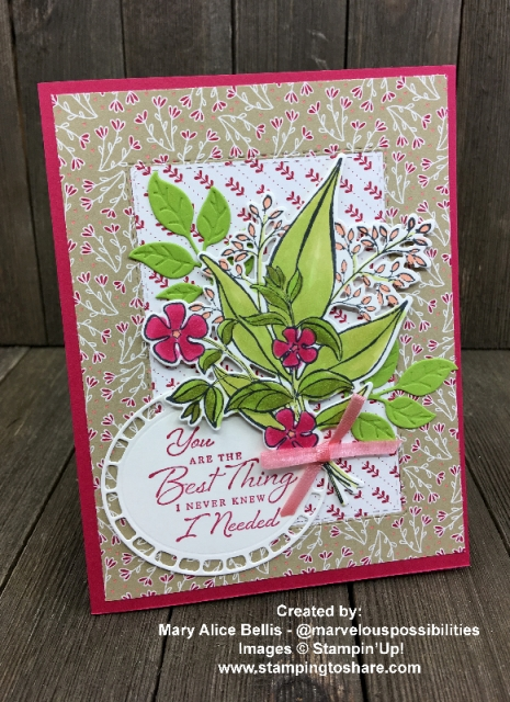 Wonderful Romance Bundle Demo Meeting Swap created by Mary Alice Bellis for #stampingtoshare