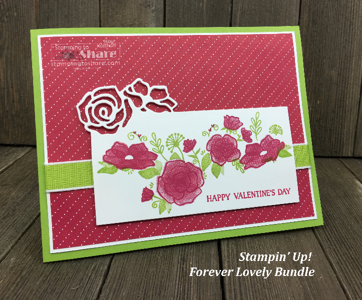 Stampin' Up! Forever Lovely Bundle from Valentines to Birthdays