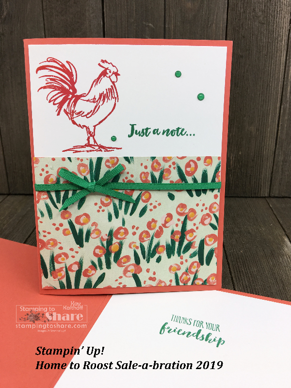 Stampin' Up! Home to Roost – Three Easy Cards!