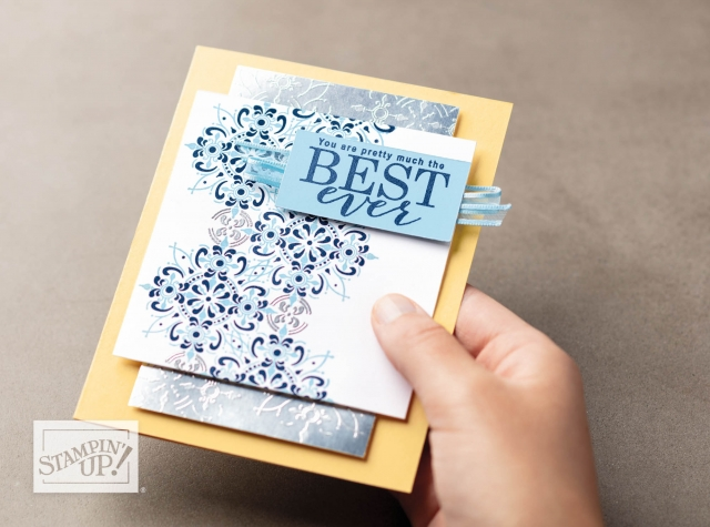 Stampin' Up! All Adorned Stamp Set Second Release for Sale-a-bration #stampingtoshare