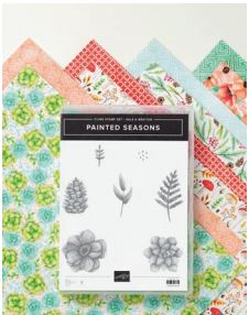 Stampin' Up! Painted Seasons Bundle from the Second Release Sale-a-bration Catalog #stampingtoshare