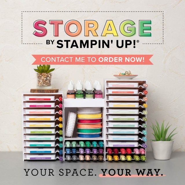 Storage by Stampin' Up! will be finding a home at #stampingtoshare