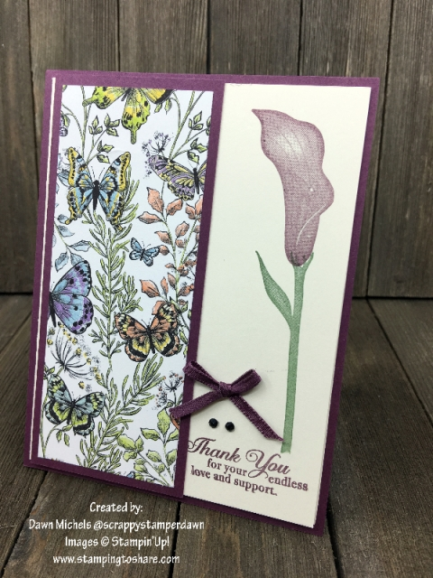 Lasting Lily created by Dawn Michels for Demo Meeting Swap #stampingtoshare