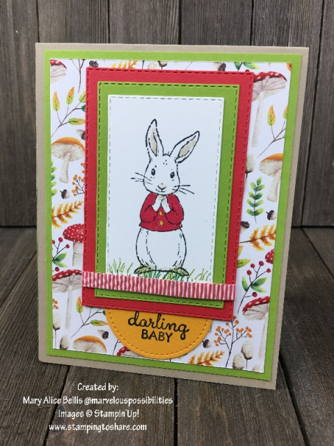 Fable Friends created by Mary Alice Bellis for Demo Meeting Swap #stampingtoshare