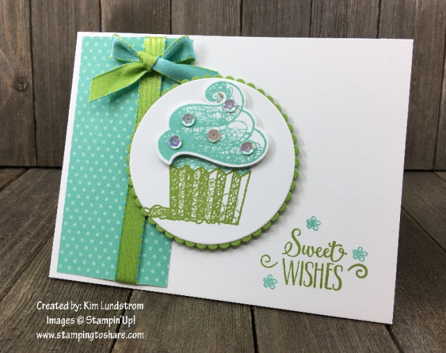 Hello Cupcake created by Kim Lundstrom Demo Meeting Swap for #stampingtoshare