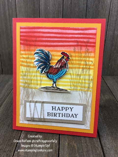 Home to Roost created by Grace Balfanz Demo Meeting Swap for #stampingtoshare