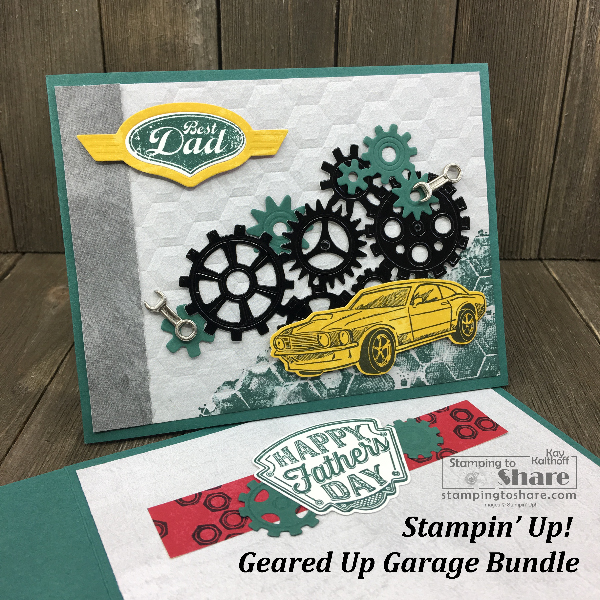 Stampin' Up! Geared Up Garage Bundle for Birthdays and Father's Day