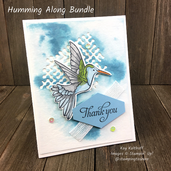 Stampin' Up! Humming Along Bundle – the Hummingbird!