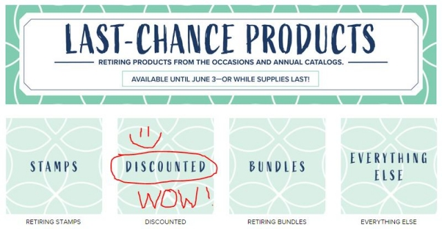 Last Chance Items with a DISCOUNT!!
