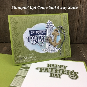 Masculine Cards from Stampin' Up! Come Sail Away Product Suite