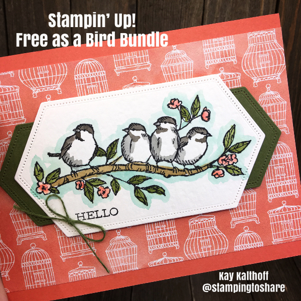 Stampin' Up! Free as a Bird Bundle