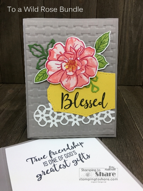 Stampin' Up! To a Wild Rose Bundle