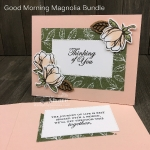 Good Morning Magnolia Bundle created by Kay Kalthoff for Stamping to Share