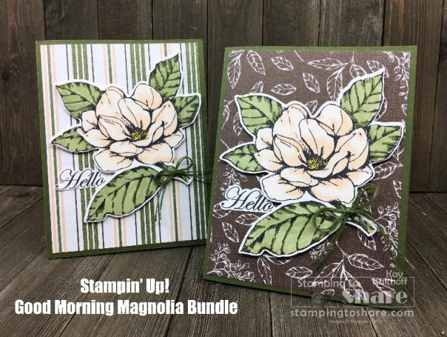 Stampin' Up! Good Morning Magnolia Bundle