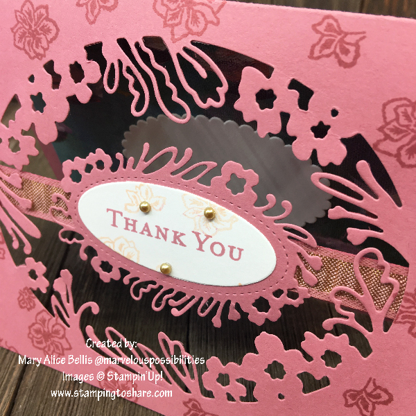 Stampin' Up! Path of Petals Bundle Close Up