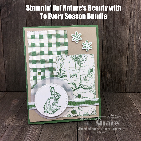 2019 Holiday Catalog Tour and Nature's Beauty Card Making!