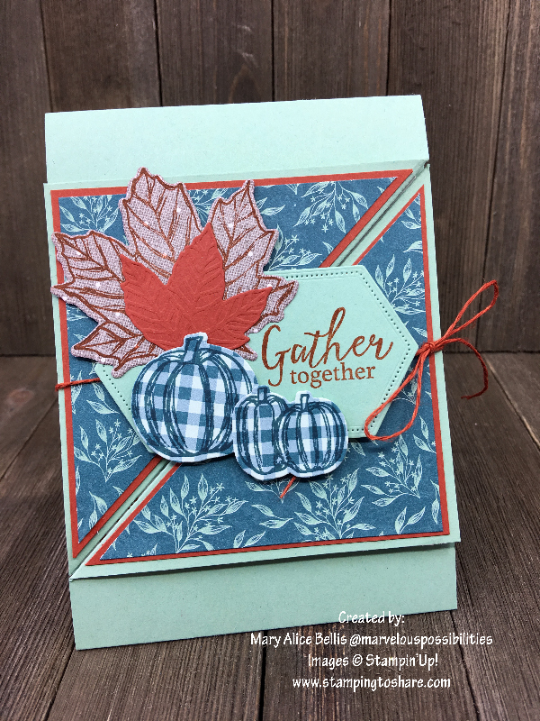 Stampin' Up! Gather Together by Mary Alice Bellis